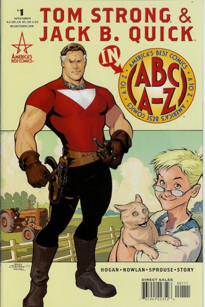 Cover for ABC: A-Z, Tom Strong and Jack B. Quick (DC, 2005 series) #1