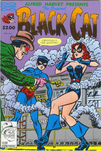 Cover for The Original Black Cat (Lorne-Harvey, 1988 series) #7