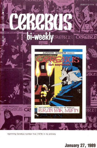 Cover for Cerebus Bi-Weekly (Aardvark-Vanaheim, 1988 series) #5