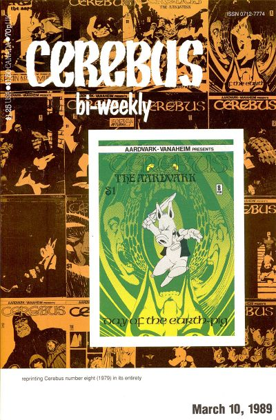 Cover for Cerebus Bi-Weekly (Aardvark-Vanaheim, 1988 series) #8
