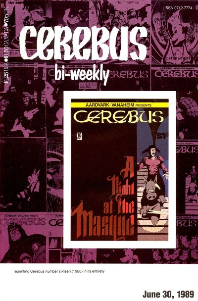 Cover for Cerebus Bi-Weekly (Aardvark-Vanaheim, 1988 series) #16
