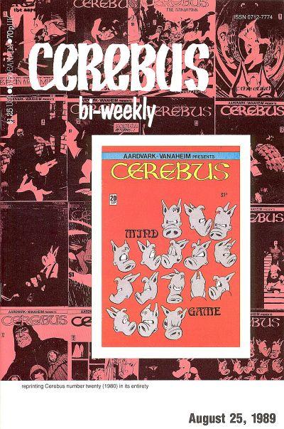 Cover for Cerebus Bi-Weekly (Aardvark-Vanaheim, 1988 series) #20