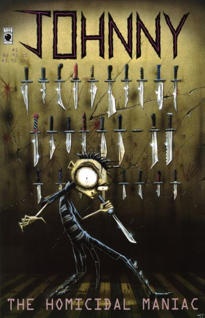 Cover for Johnny, the Homicidal Maniac (Slave Labor, 1995 series) #1