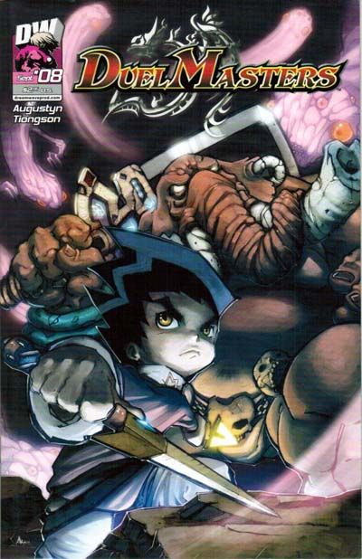 Cover for Duel Masters (Dreamwave Productions, 2003 series) #8