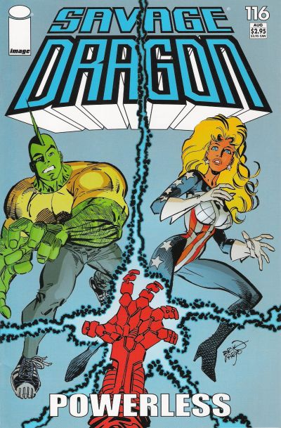 Cover for Savage Dragon (Image, 1993 series) #116
