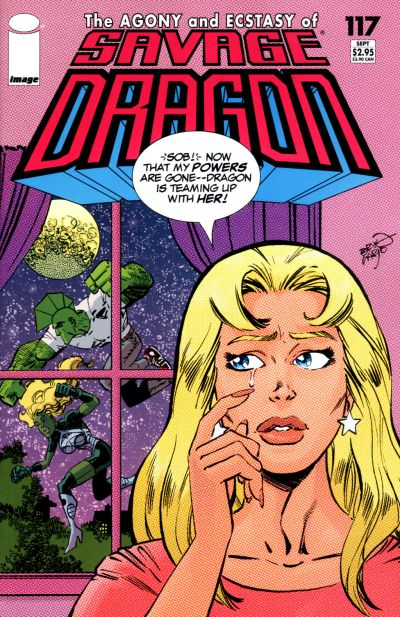 Cover for Savage Dragon (Image, 1993 series) #117