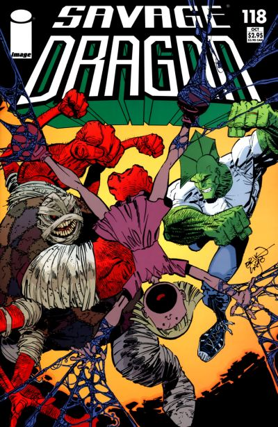 Cover for Savage Dragon (Image, 1993 series) #118
