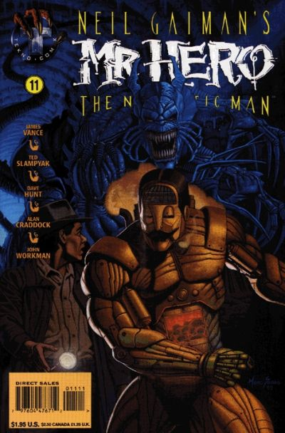 Cover for Neil Gaiman's Mr. Hero - The Newmatic Man (Big Entertainment, 1995 series) #11