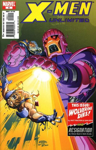 Cover for X-Men Unlimited (Marvel, 2004 series) #9