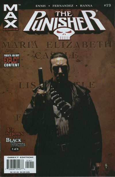 Cover for Punisher (Marvel, 2004 series) #19