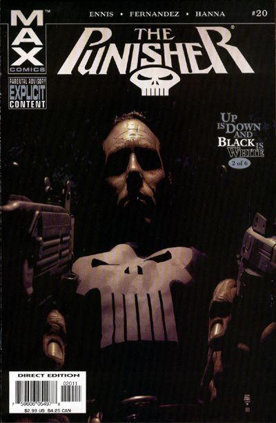 Cover for Punisher (Marvel, 2004 series) #20