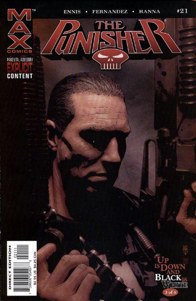 Cover for Punisher (Marvel, 2004 series) #21