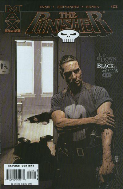 Cover for Punisher (Marvel, 2004 series) #22