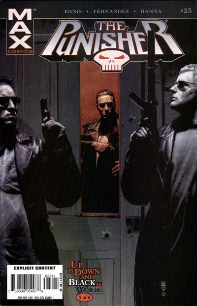 Cover for Punisher (Marvel, 2004 series) #23