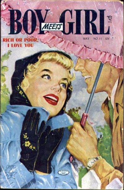 Cover for Boy Meets Girl (Lev Gleason, 1950 series) #11