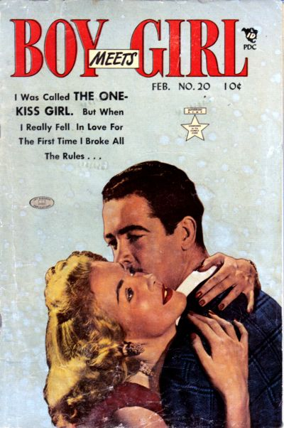 Cover for Boy Meets Girl (Lev Gleason, 1950 series) #20