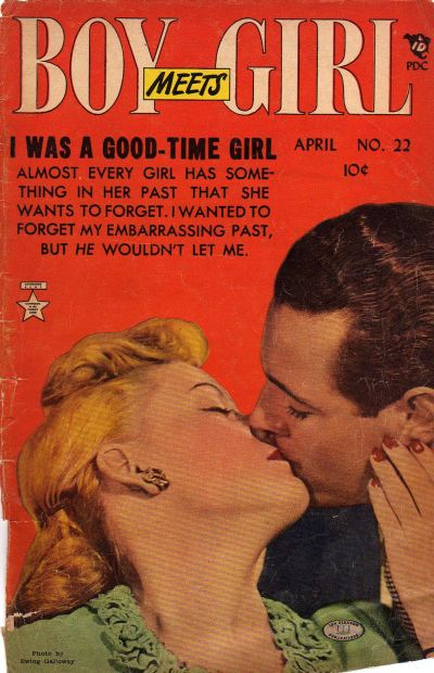 Cover for Boy Meets Girl (Lev Gleason, 1950 series) #22