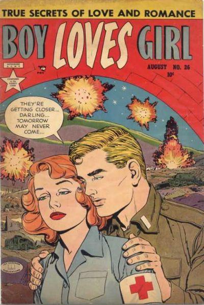 Cover for Boy Loves Girl (Lev Gleason, 1952 series) #26