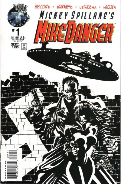 Cover for Mickey Spillane's Mike Danger (Big Entertainment, 1995 series) #1