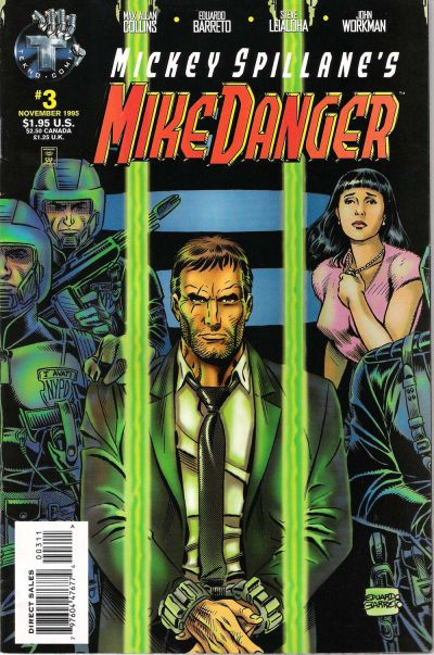 Cover for Mickey Spillane's Mike Danger (Big Entertainment, 1995 series) #3