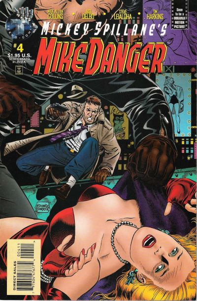 Cover for Mickey Spillane's Mike Danger (Big Entertainment, 1995 series) #4