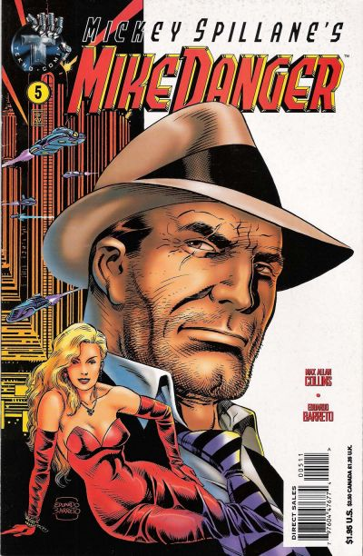 Cover for Mickey Spillane's Mike Danger (Big Entertainment, 1995 series) #5