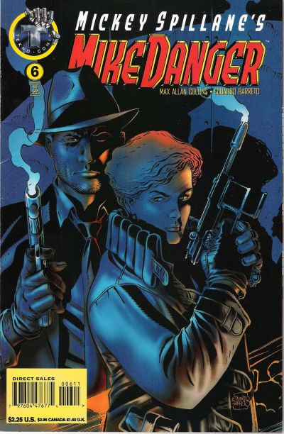 Cover for Mickey Spillane's Mike Danger (Big Entertainment, 1995 series) #6