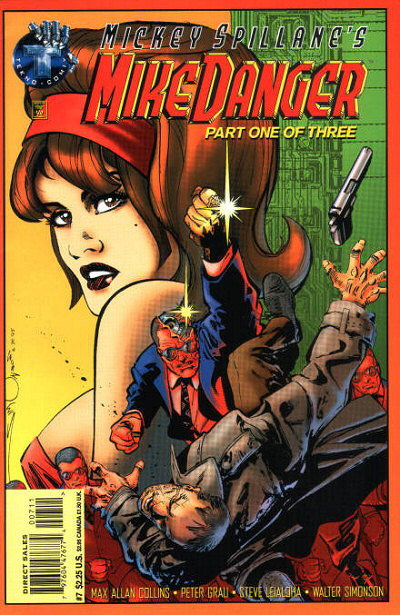 Cover for Mickey Spillane's Mike Danger (Big Entertainment, 1995 series) #7