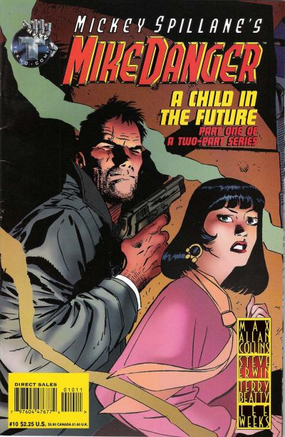 Cover for Mickey Spillane's Mike Danger (Big Entertainment, 1995 series) #10