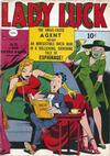 Cover for Lady Luck (Bell Features, 1950 series) #90