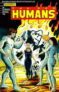 Cover Thumbnail for The New Humans (Malibu, 1987 series) #9