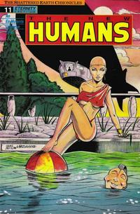 Cover Thumbnail for The New Humans (Malibu, 1987 series) #11