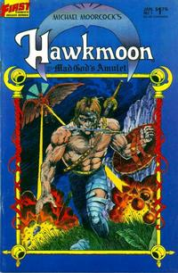 Cover Thumbnail for Hawkmoon: The Mad God's Amulet (First, 1987 series) #1
