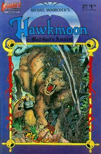 Cover Thumbnail for Hawkmoon: The Mad God's Amulet (First, 1987 series) #3