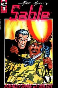 Cover Thumbnail for Mike Grell's Sable (First, 1990 series) #6