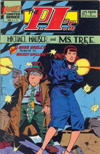Cover Thumbnail for The P.I.'s: Michael Mauser and Ms. Tree (First, 1985 series) #1