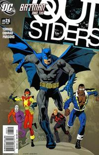 Cover Thumbnail for Outsiders (DC, 2003 series) #26