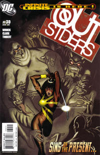 Cover for Outsiders (DC, 2003 series) #30