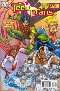 Cover Thumbnail for Teen Titans (DC, 2003 series) #27 [Rob Liefeld Retail Cover Edition]