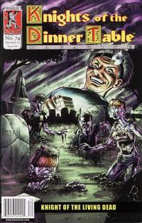 Cover Thumbnail for Knights of the Dinner Table (Kenzer and Company, 1997 series) #74