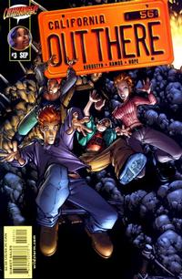Cover Thumbnail for Out There (DC, 2001 series) #3 [Humberto Ramos / Sandra Hope Cover]