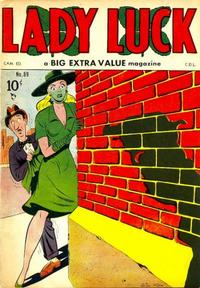 Cover Thumbnail for Lady Luck (Bell Features, 1950 series) #89