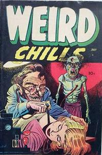 Cover Thumbnail for Weird Chills (Stanley Morse, 1954 series) #1