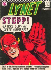 Cover Thumbnail for Lynet (Serieforlaget / Se-Bladene / Stabenfeldt, 1967 series) #1/1967
