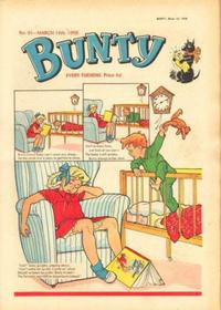 Cover Thumbnail for Bunty (D.C. Thomson, 1958 series) #61