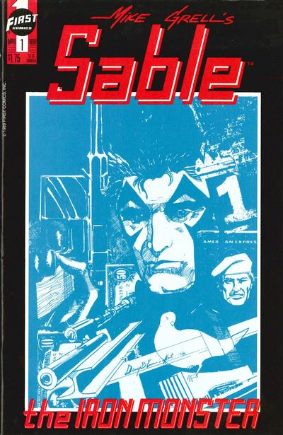 Cover for Mike Grell's Sable (First, 1990 series) #1