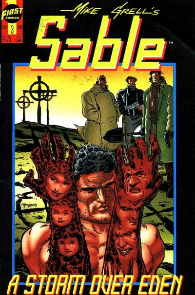 Cover for Mike Grell's Sable (First, 1990 series) #3