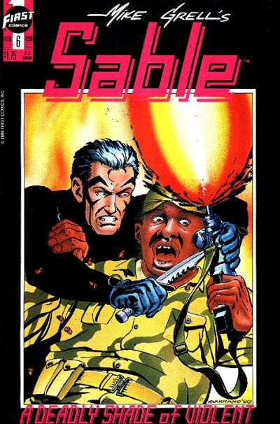 Cover for Mike Grell's Sable (First, 1990 series) #6