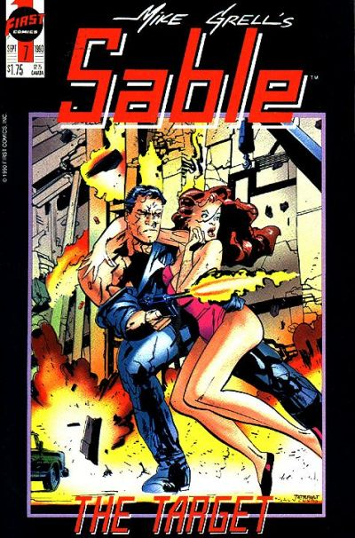 Cover for Mike Grell's Sable (First, 1990 series) #7