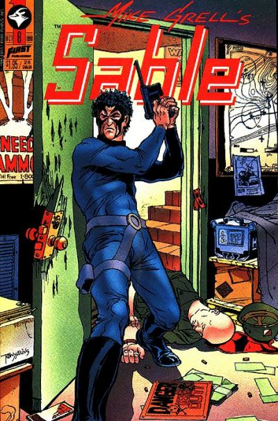 Cover for Mike Grell's Sable (First, 1990 series) #8